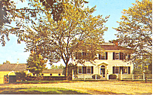 Salem Towne House Old Sturbridge Village MA Postcard p19261 (Image1)