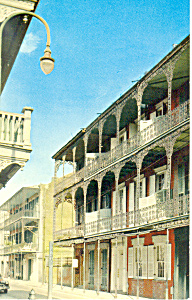 Royal Street,New Orleans, LA Postcard (Image1)