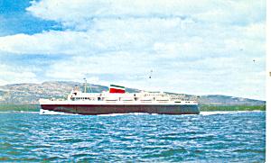 The Bluenose leaving Bar Harbor Postcard p19277 (Image1)