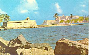 Castillo San Felipe del Morro, Puerto Rico Postcard (Image1)
