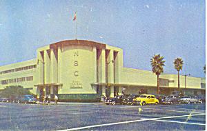 NBC Radio City Los Angeles CA Postcard p19285 (Image1)