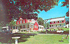 Warm Springs Inn Warm Springs Va Postcard P19286