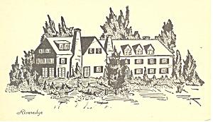 Riveredge  Reading  Pennsylvania Postcard p19290 (Image1)