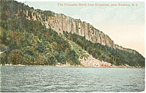 Yonkers NY The Palisades Postcard p1931 (Image1)