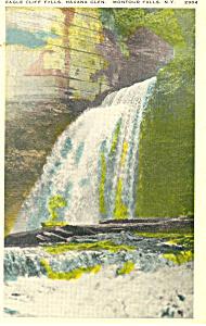 Havana Glen Montour Falls New York Postcard p19325 (Image1)