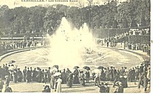 Versailles,France,Les Grandes Eaux Postcard (Image1)