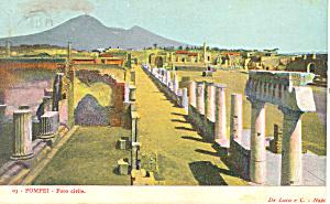 Foro civila, Pompei,Italy Postcard (Image1)