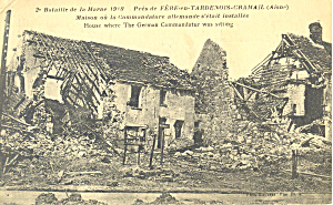 2nd Battle of the Marne 1919 Postcard p19343 (Image1)