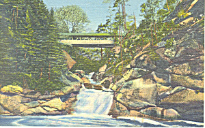 The Plume,Franconia Notch,NH Postcard (Image1)