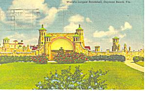 World s Largest Bandshell Daytona Beach FL Postcard p19347 (Image1)