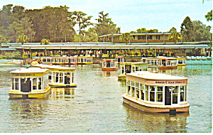 Glass Bottom Boats Silver Springs Fl Postcard P19364