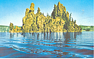 Crater Lake National Park Oregon Postcard P19395