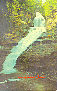 Dingmans Falls, Pennsylvania  Postcard (Image1)