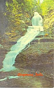 Dingmans Falls Pennsylvania  Postcard p19406 (Image1)