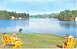 First Lake Old Forge New York P19521