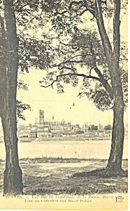View of Cathedral and Ducal Palace Nevers France p19573 (Image1)