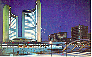Nathan Phillips Square Toronto Ontario Canada P19595