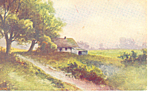 Summer on the Farm Artwork Card Postcard p19620 (Image1)