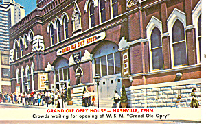 Grand Ole Opry House, Nashville,Tennessee (Image1)