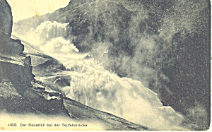 Der Reussfall bei der Teufelsbrucke Germany p19689 (Image1)