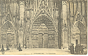 Strasbourg  France  La Cathedral  p19696 (Image1)