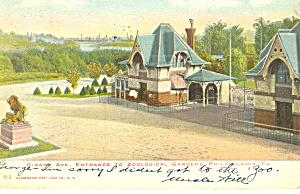 Girard Ave Entrance Zoological Gardens Philadelphia PA p19706 (Image1)