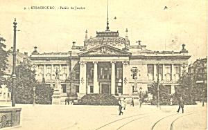 Strasbourg, France Palais de Justice (Image1)