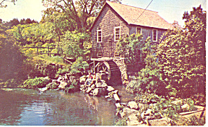 Old Mill at Brewster,Massachusetts (Image1)