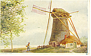Windmill Postcard P19733