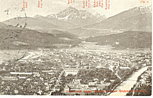 Innsbruck, Austria Looking South (Image1)
