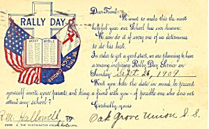 Rally Day Oak Grove Union Sunday School p19791 (Image1)