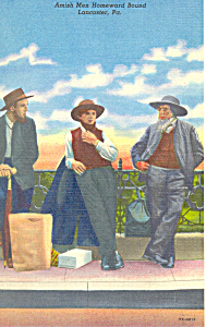 Amish Men Homeward Bound (Image1)