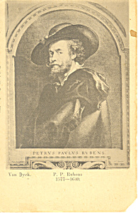Van Dyek P P Rubens Potscard p19844 (Image1)