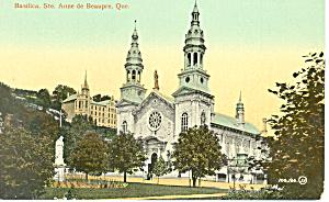 Basilica Ste Anne de Beaupre Quebec Canada p19863 (Image1)