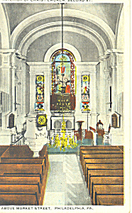 Interior Christ Church Philadelphia Pennsylvania P19874