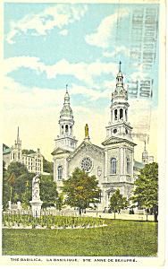 Basilica, St Anne de Beaupre, Quebec,Canada (Image1)