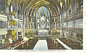 Interior Notre Dame Church Montreal Canada p19892 (Image1)