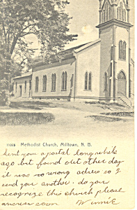 Methodist Church,Milltown,New Brunswick, Canada (Image1)