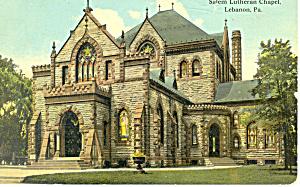 Salem Lutheran Chapel Lebanon Pennsylvania p19895 (Image1)