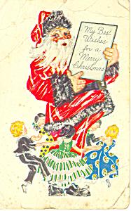 Santa Card from Kilpatrick s Purity Bread p19937 (Image1)