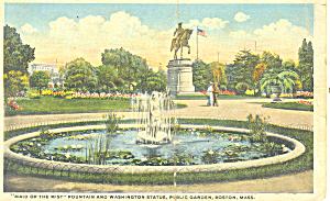 Maid of the Mist Fountain Washington Monument Boston MA p19962 (Image1)