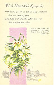 With Heart Felt Sympathy Psalm 46:1 p19972 (Image1)