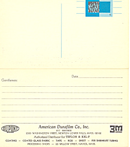UX53  4 cent Bureau of the Census Postal Card (Image1)