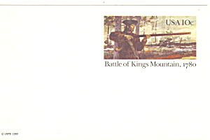 UX85 10 Cent Battle of Kings Mountain Postal Card (Image1)