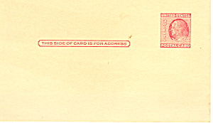 UX38, 2 Cent carmine rose Franklin Postal Card (Image1)