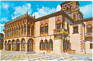 Sarasota FL Ringling Residence Postcard p2005 (Image1)