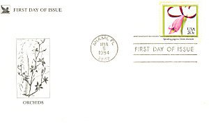 #2078-20 Cent Spreading Pogonia Fdc Cachet