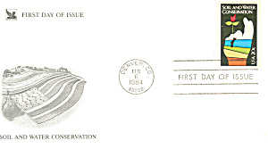 #2074-20 Cent Soil Water Conservation Fdc Cachet