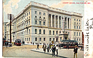 Court House, Baltimore, Maryland (Image1)