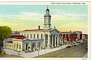 Ross County Court House, Cillicothe, Ohio (Image1)